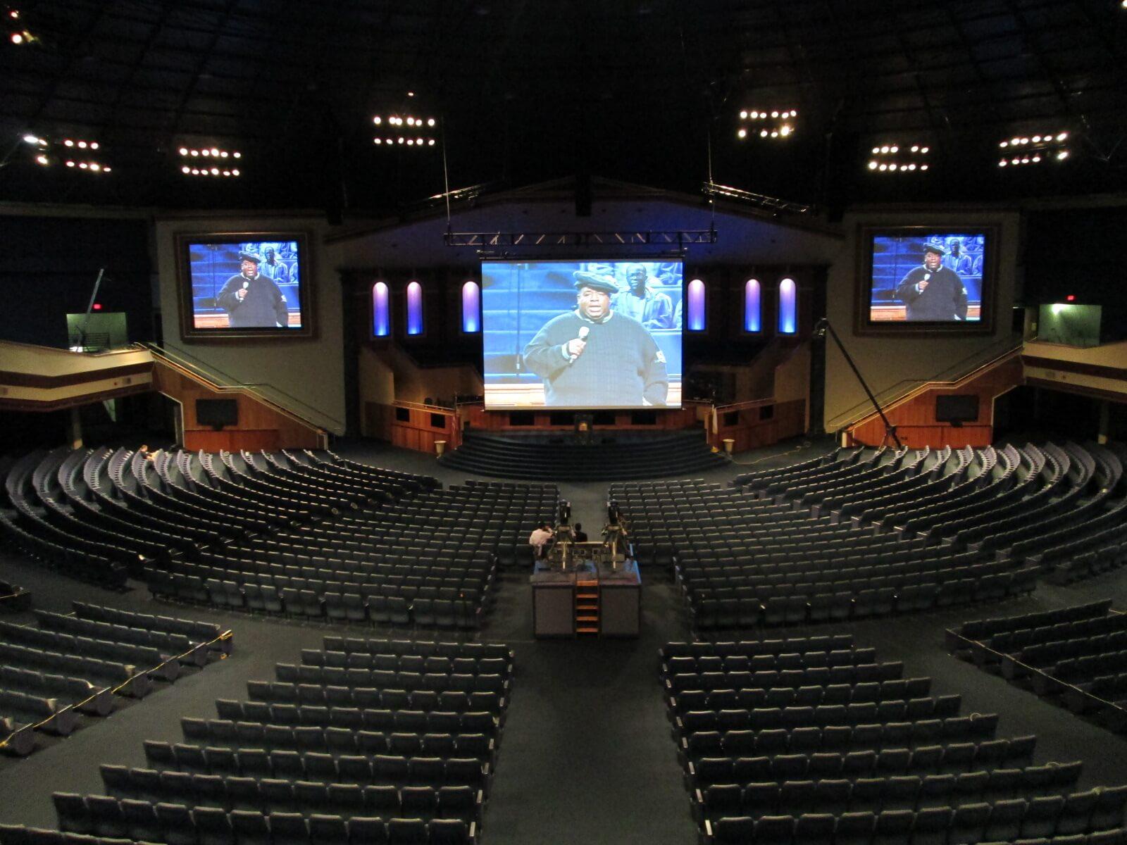 World Changers Church International 171 Church Audio Systems